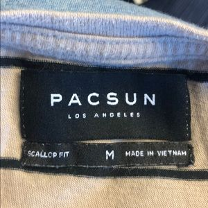 PacSun Shirts - Pacsun Men's tan with black stripes size med